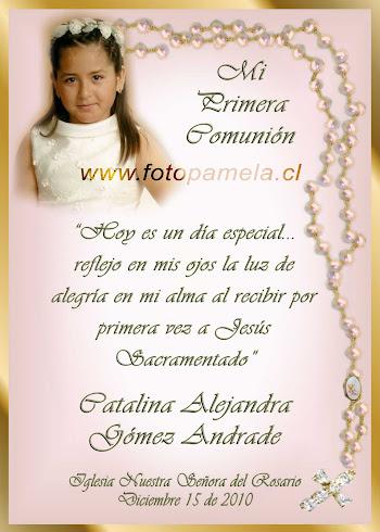 PRIMERA COMUNION SANTITO