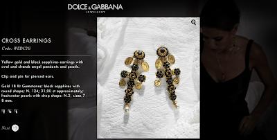 D&G Fashion Jewelry| Cross Earrings