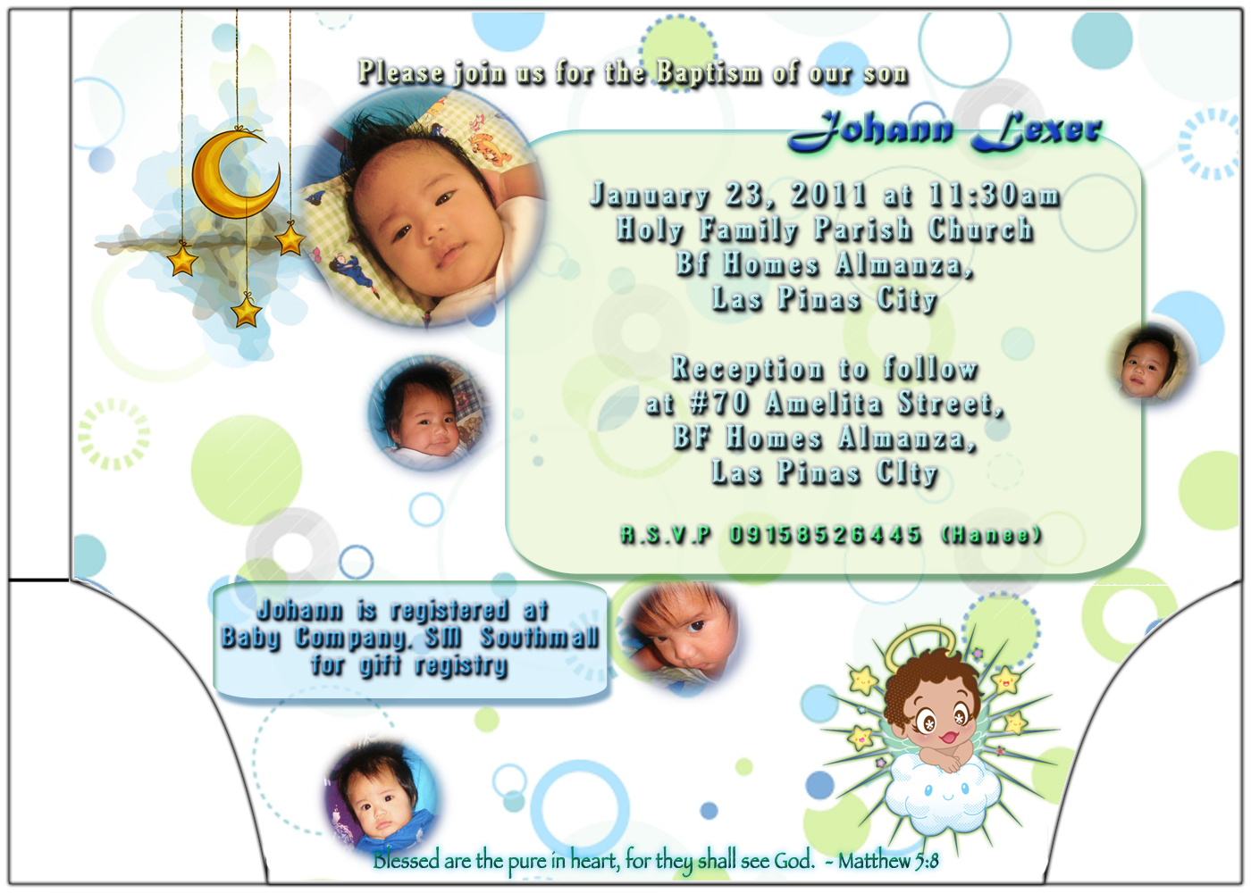 Pulotpukyutan christening last january 23 2011 super late post maarte ako so i thought of a lot of pakulo to make his invitation unique somehow so i designed it this way and cut it that way stopboris Images