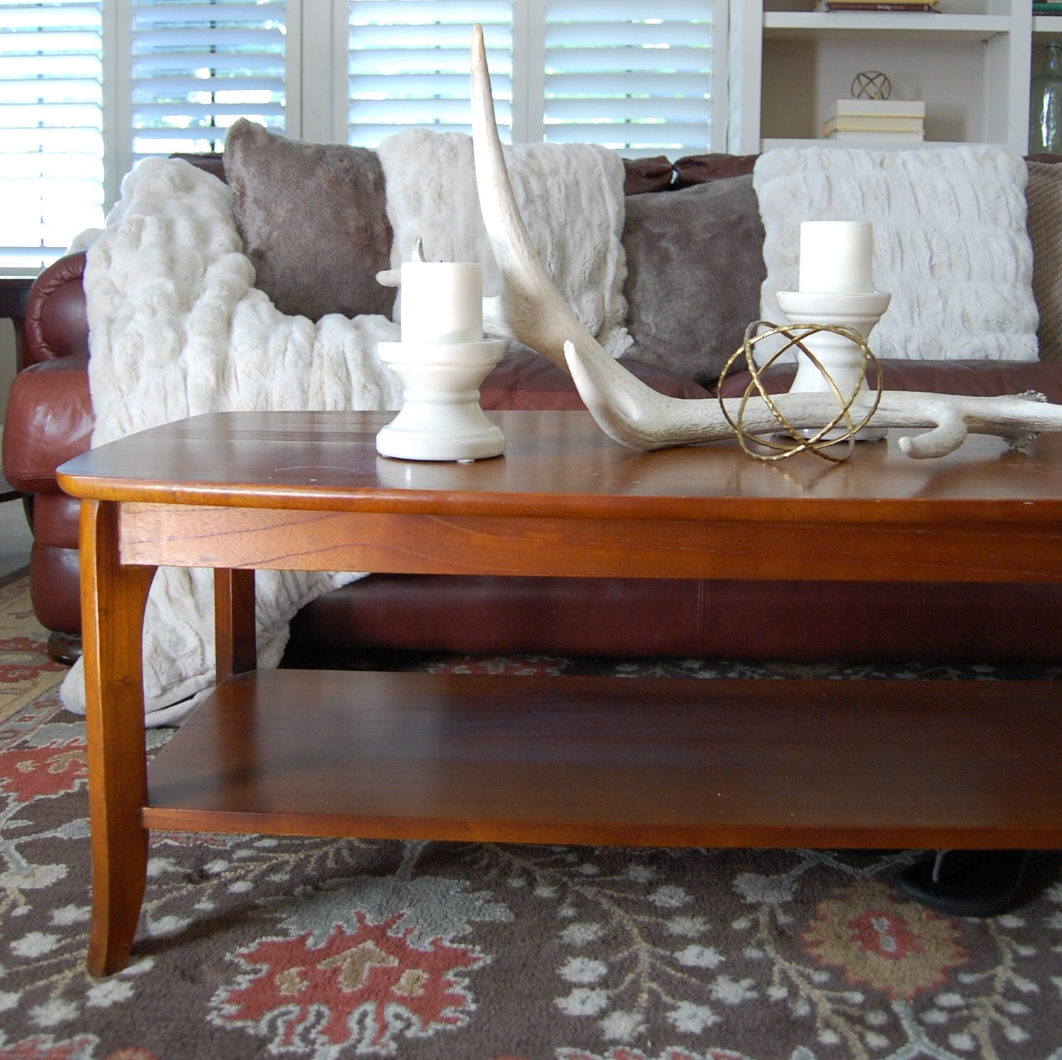 Our Pottery Barn Decor Happy Happy Nester - Pb coffee table