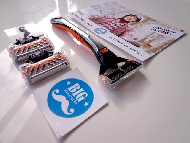 BIG MOUSTACHE: La box d'abonnement de rasoirs