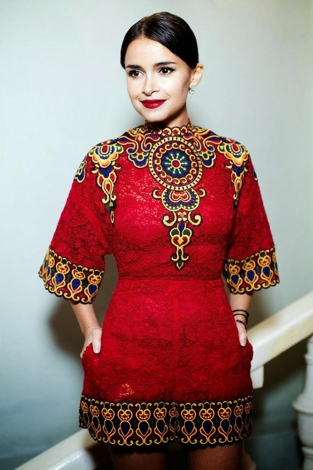 Pop Culture And Fashion Magic Miroslava Duma Style File