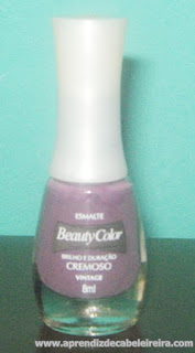ffrasco do esmalte vintage beauty color