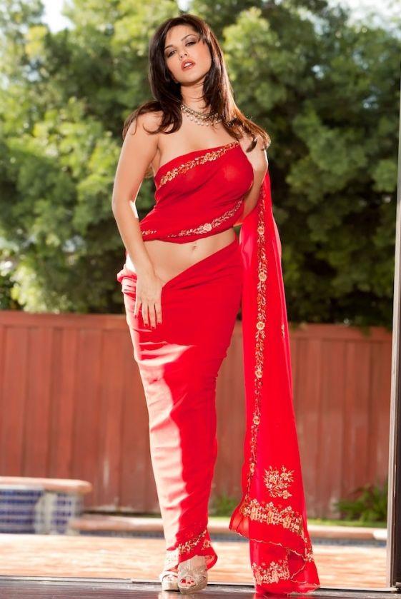 Sunny+Leone+hot+in+saree