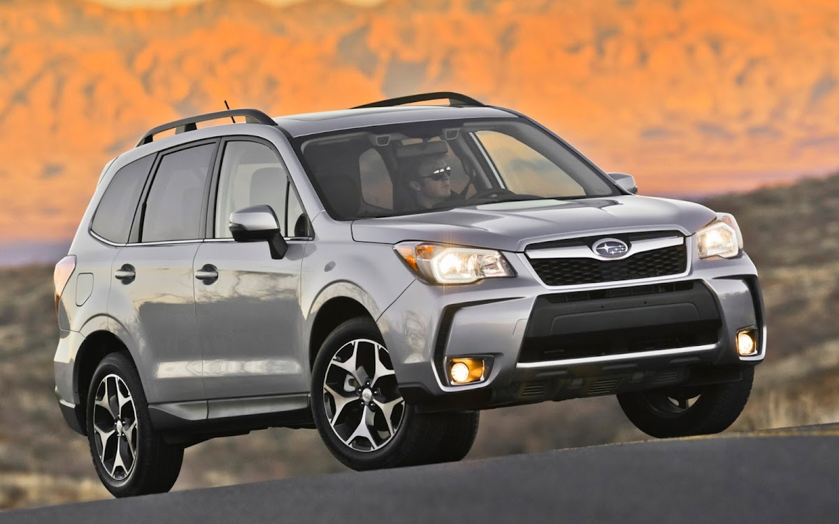 2014 Subaru Forester Widescreen HD Wallpaper 11