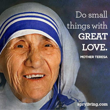 Words Short Paragraph on Mother Teresa for kids