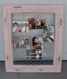 Chunky Sweet Pea Frame (SOLD)