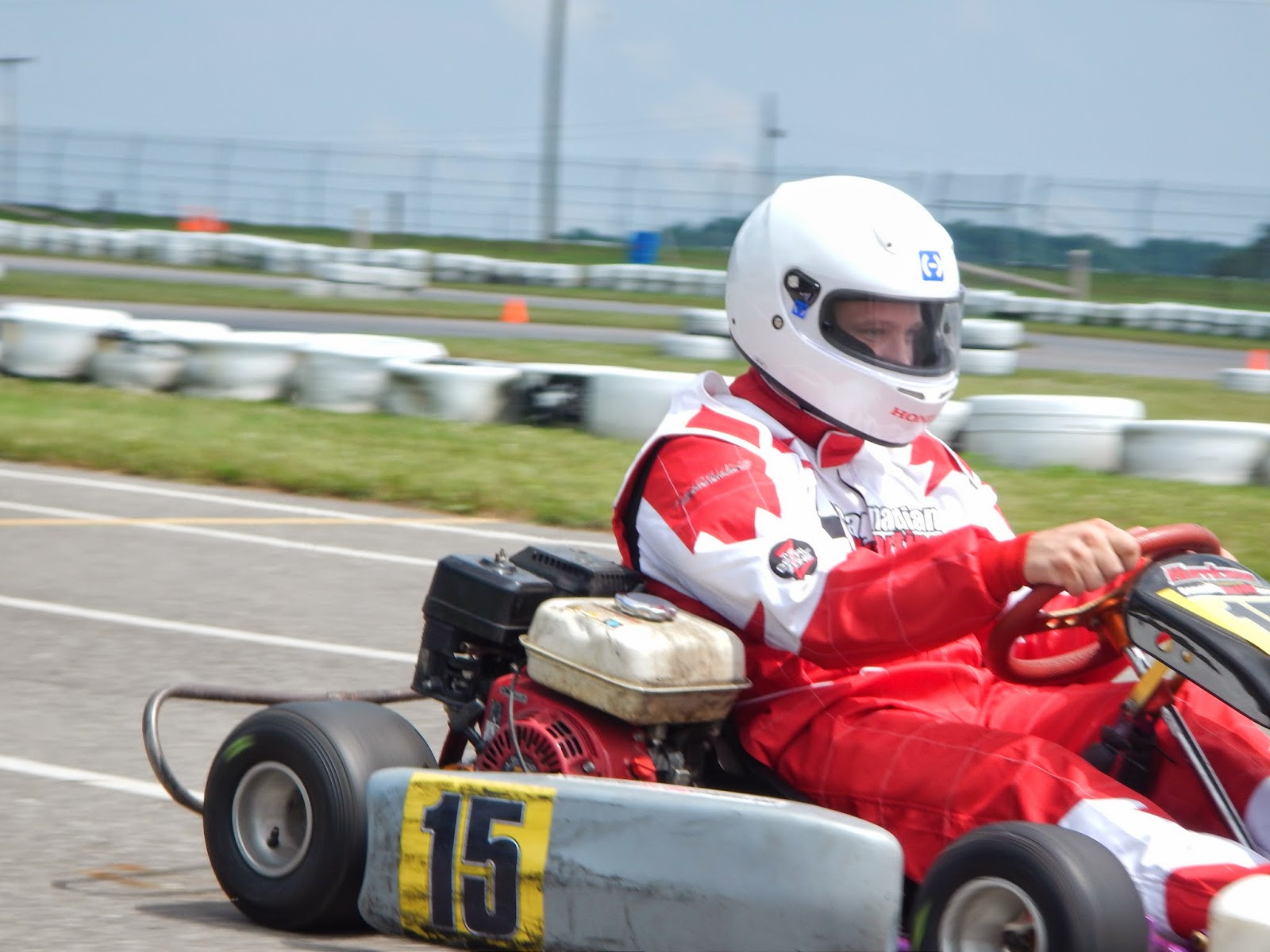 Honda powered go kart