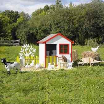 Deco maison de charme abri de jardin bois castorama - Maison de jardin castorama ...