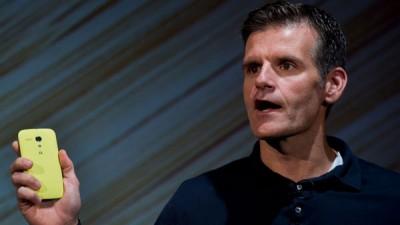 CEO Motorola Hengkang ke Dropbox