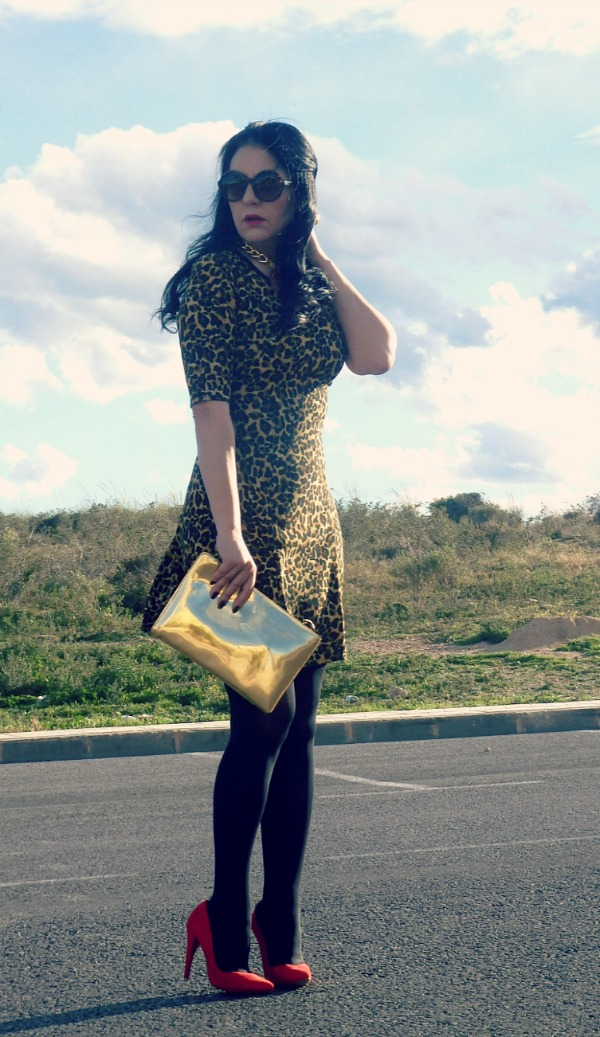 dress-animalprint