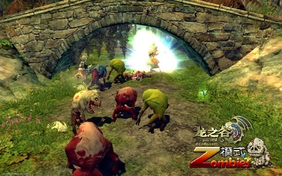 Dragon Nest Zombie Mode PVP