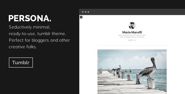 PERSONA - Tumblr Theme