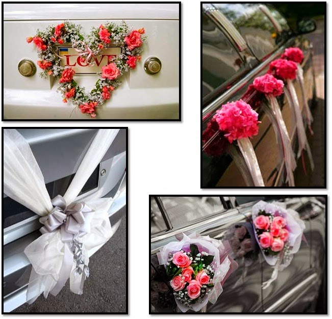 Wedding car decor trend in Pakistan