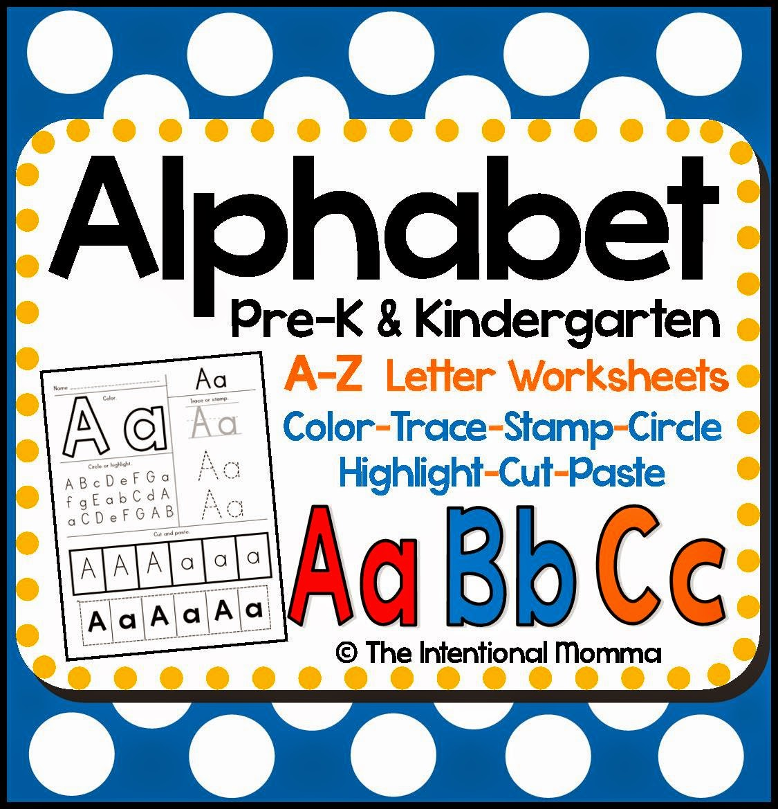 back to school kindergarten pre-k worksheets fun activities