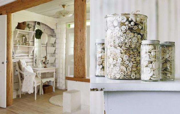 Idee da copiare shabby chic interiors for Idee arredamento shabby chic