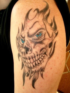 Tribal Skull Tattoos Designs