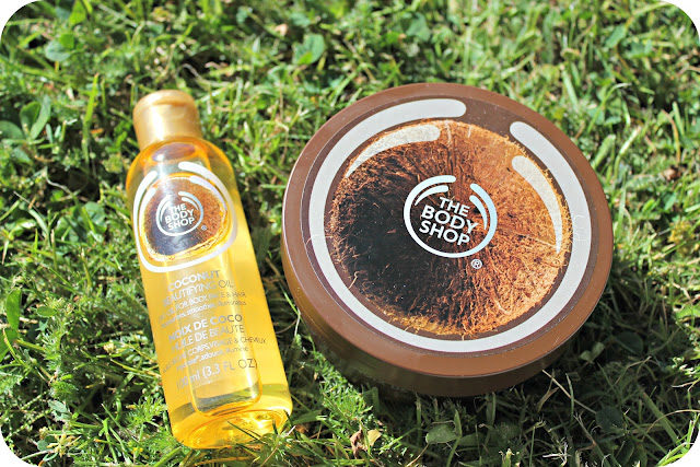 The Body Shop Coconut Oil, Coconut Body Butter
