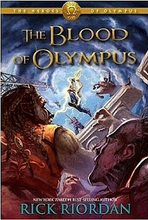 Blood Of Olympus Cover Reveal!