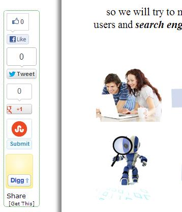 social media sharing button sidebar 2