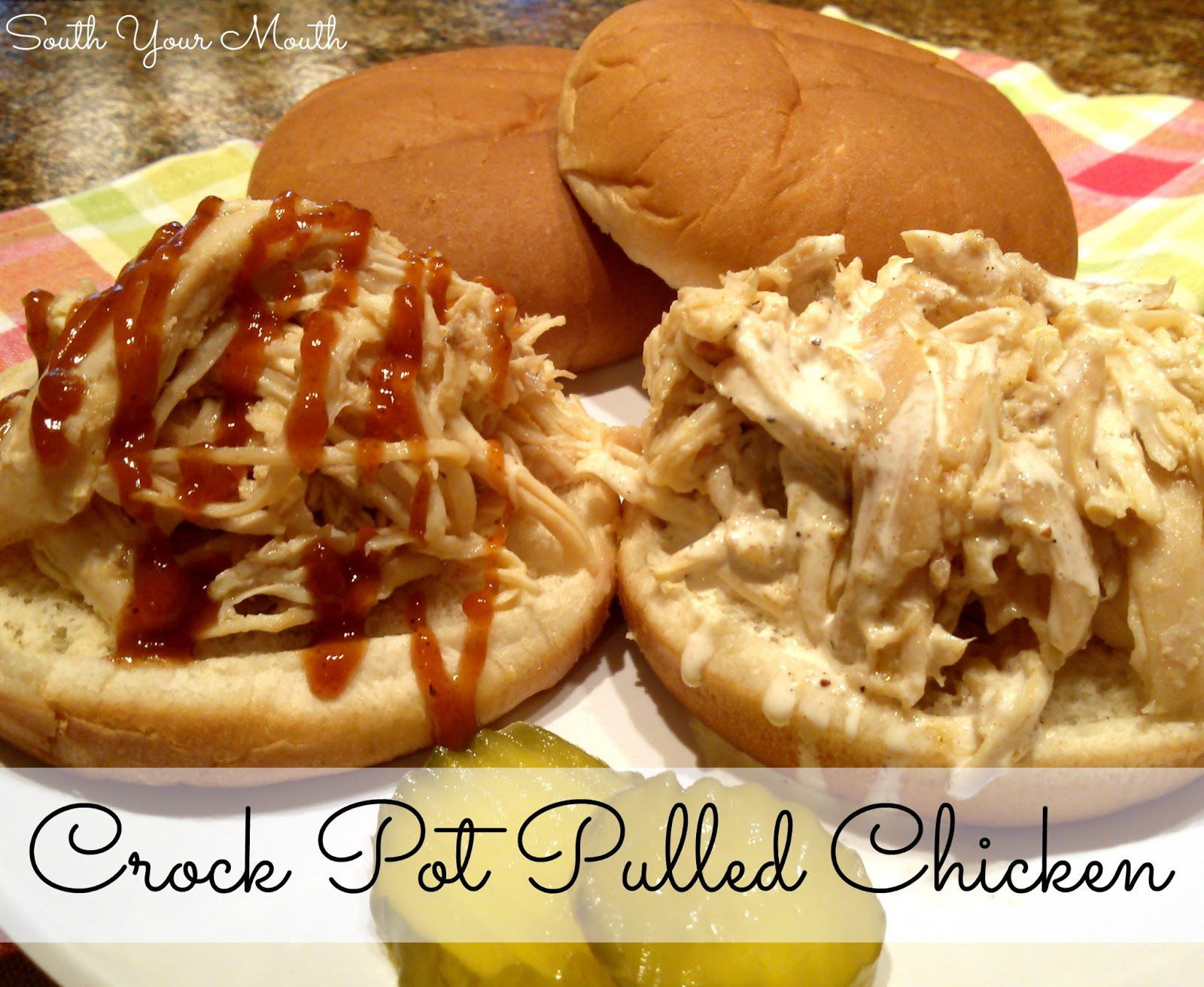 All-Purpose Shredded Crock-Pot Chicken Recipes — Dishmaps