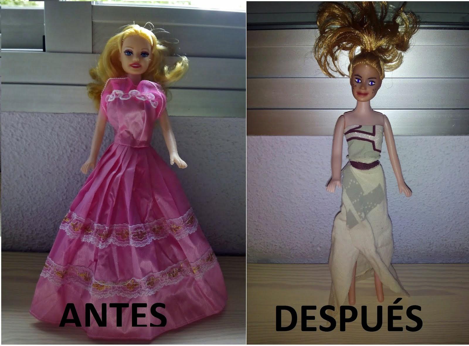 Transformación de la muñeca