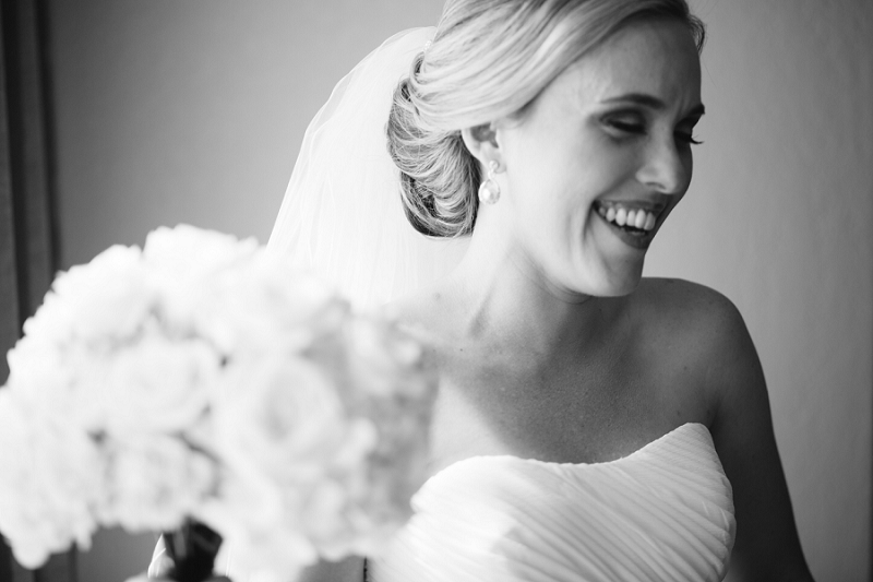 bride laughing