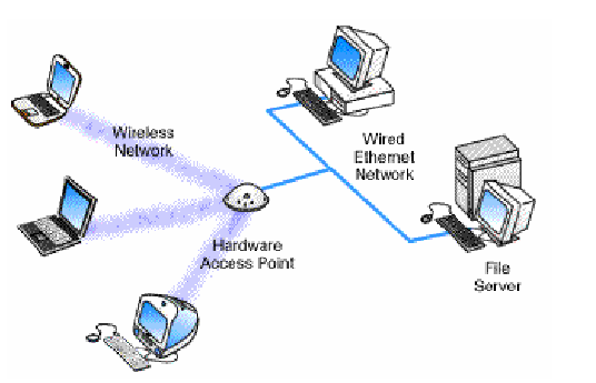 wired and wireless media