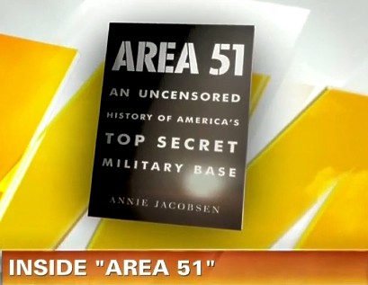 Video interview inside area 51 with author annie jacobsen for Inside unrated