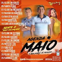 AGENDA MÊS DE MAIO DE CHARLES DO ARROCHA E FORRÓ DE PRIMEIRA!!!