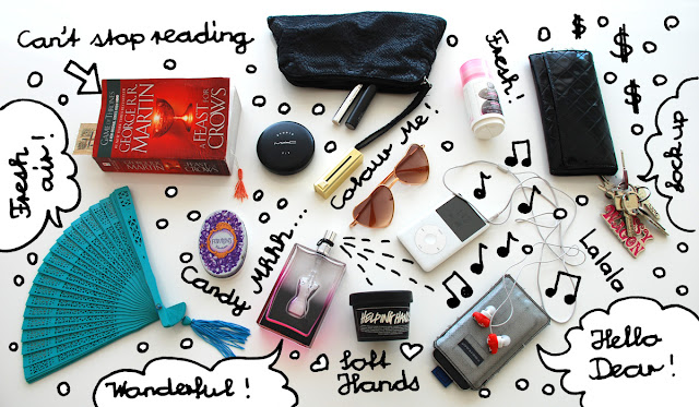 what's in my bag, handbag, content