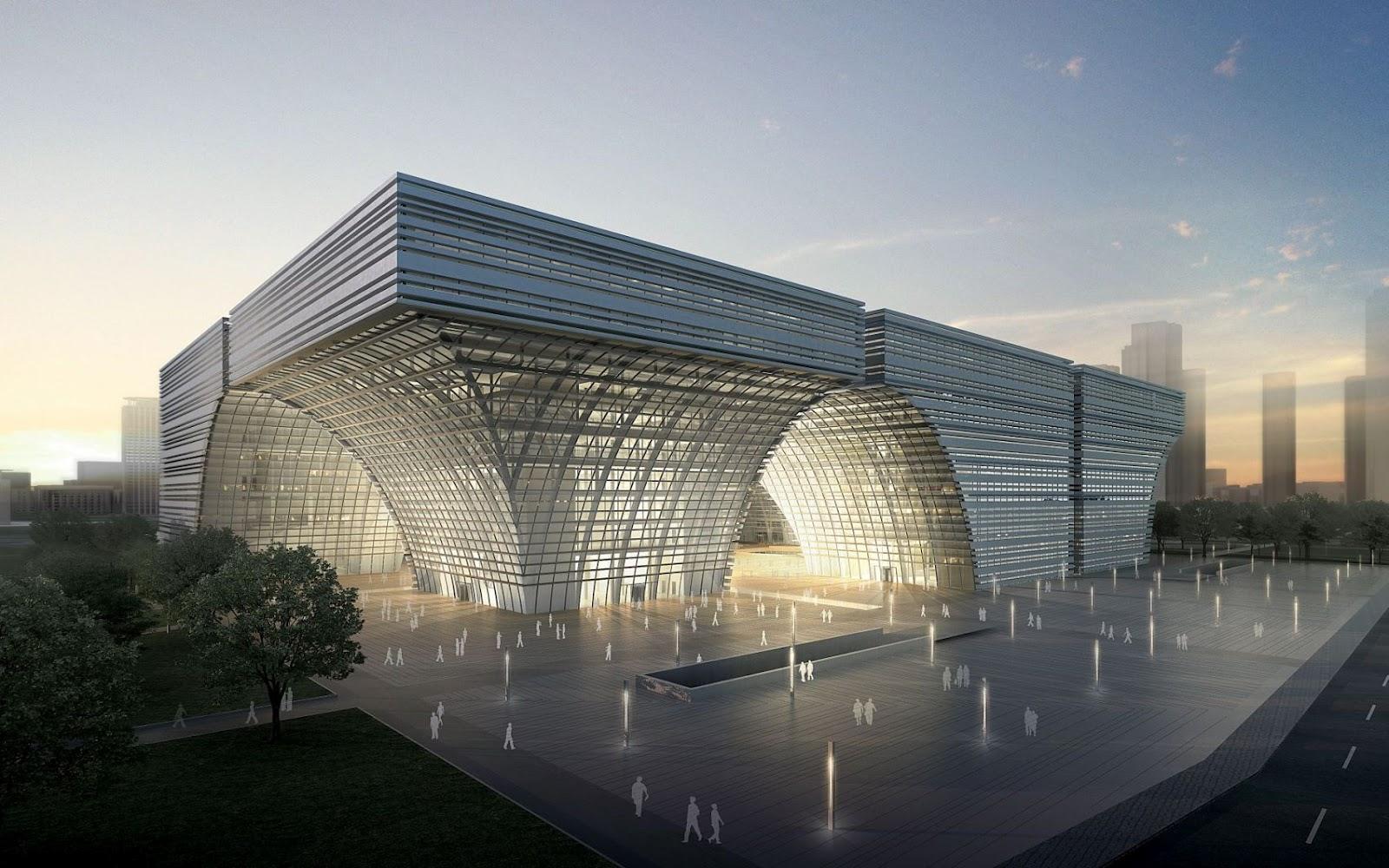 Changzhou culture center by gmp architekten a as - Gmp architektur ...