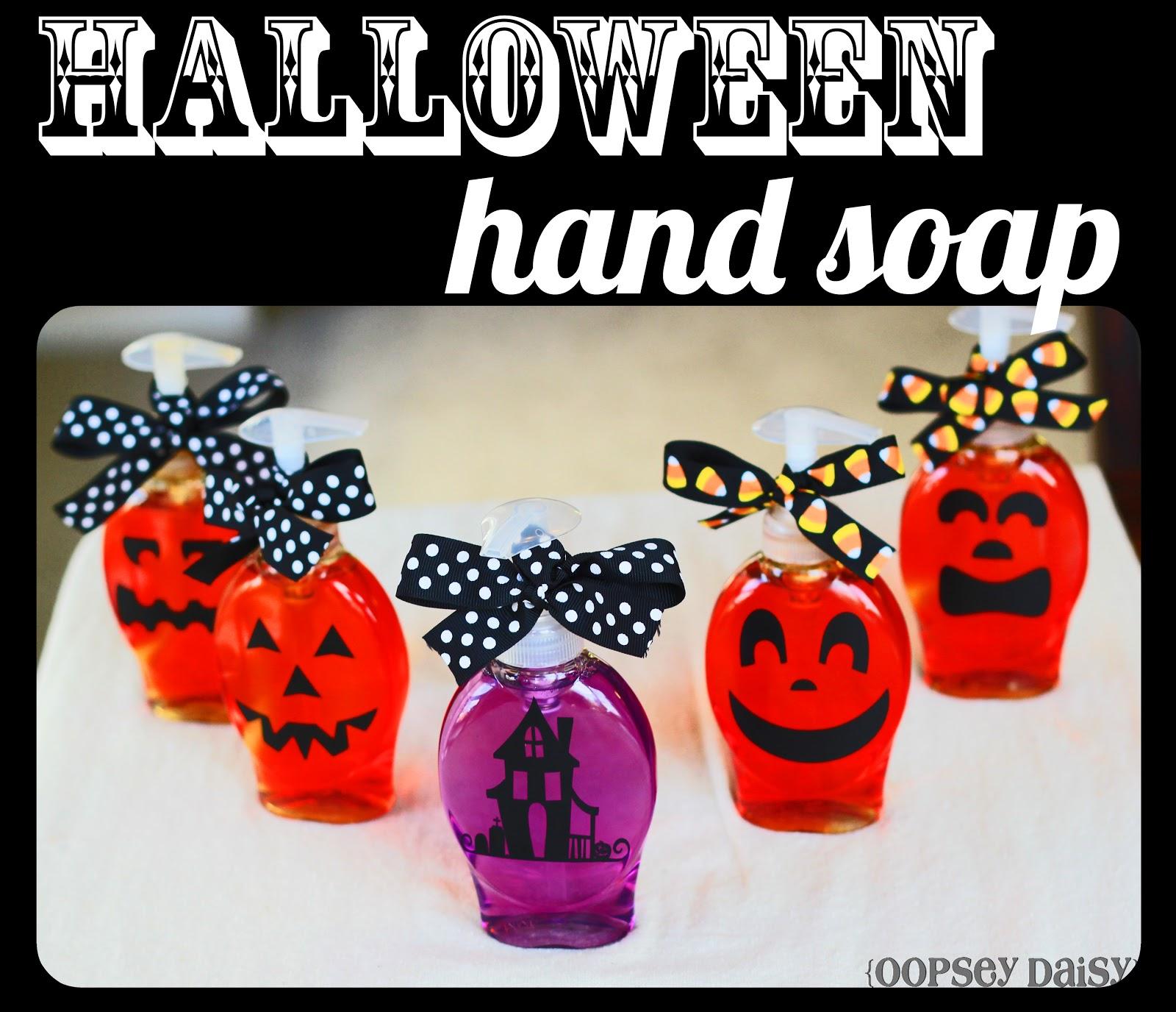 festive halloween soaps