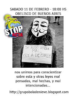 MANIFESTACIÓN STOP ACTA 11 de Febrero Marcha+11+de+febrero