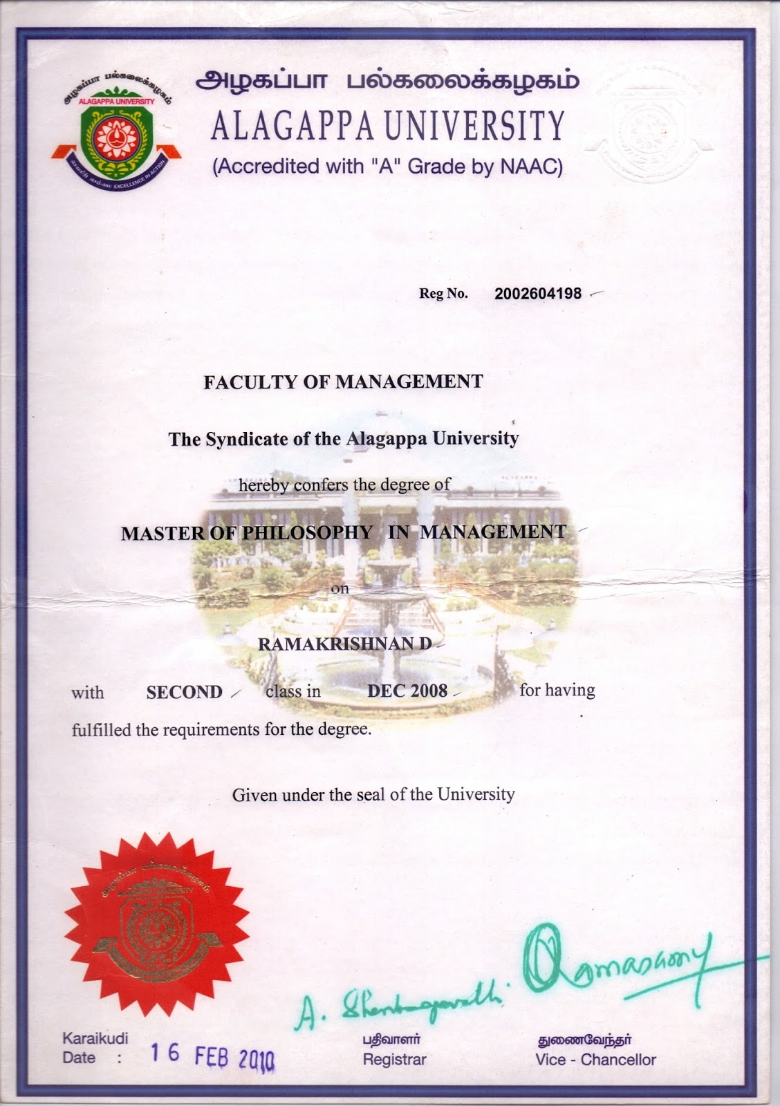 Certificate  In Property Management