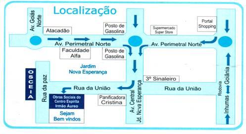 Mapa da Osceia