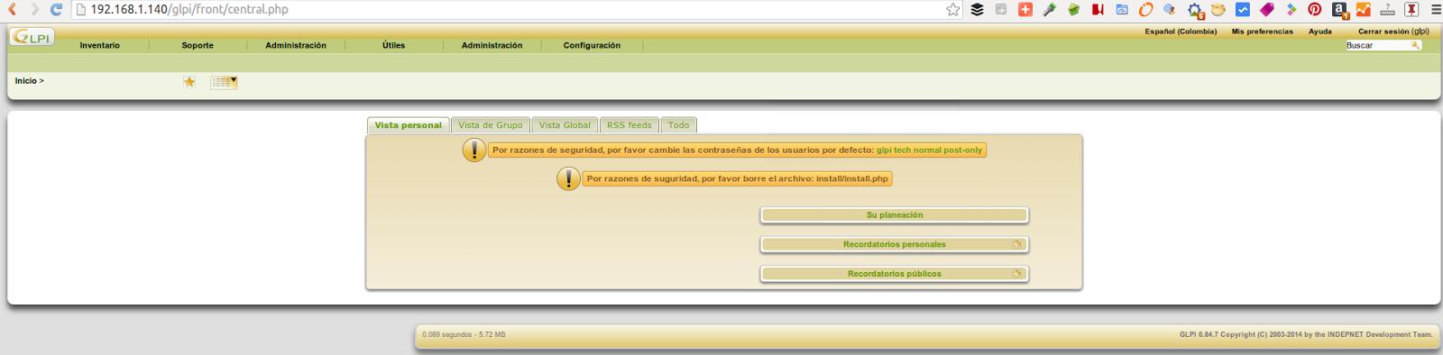 DriveMeca instalando GLPI paso a paso en Linux Centos 7