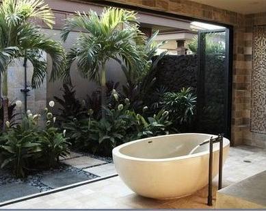 Ba os modernos dise os de interiores de cocina - Diseno de jardines interiores ...