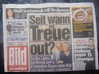 Berliner Bildzeitung vom 13.04.2013; Photo by Thomas Gerlach