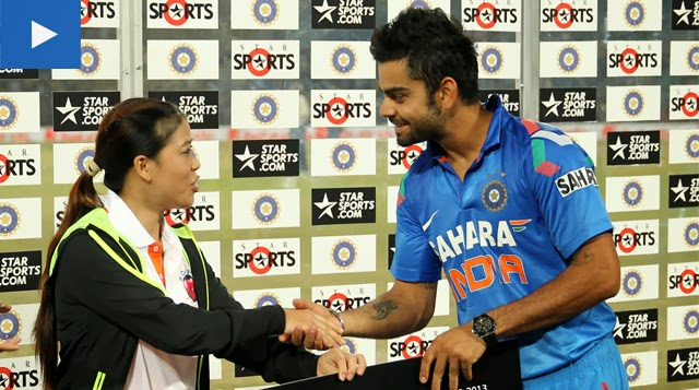 Virat-Kohli-Man-of-the-Match-Star-Sports-India-vs-Australia-6th-ODI-2013