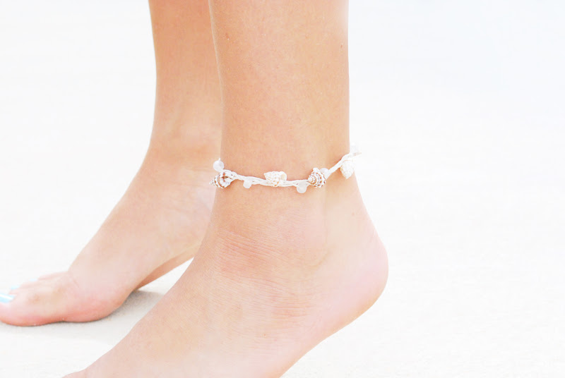 cool summer bracelet stretch chain jewelry charm beach sandals ba starfish adjusted boho barefoot ankle foot round hippie adjustable anklet