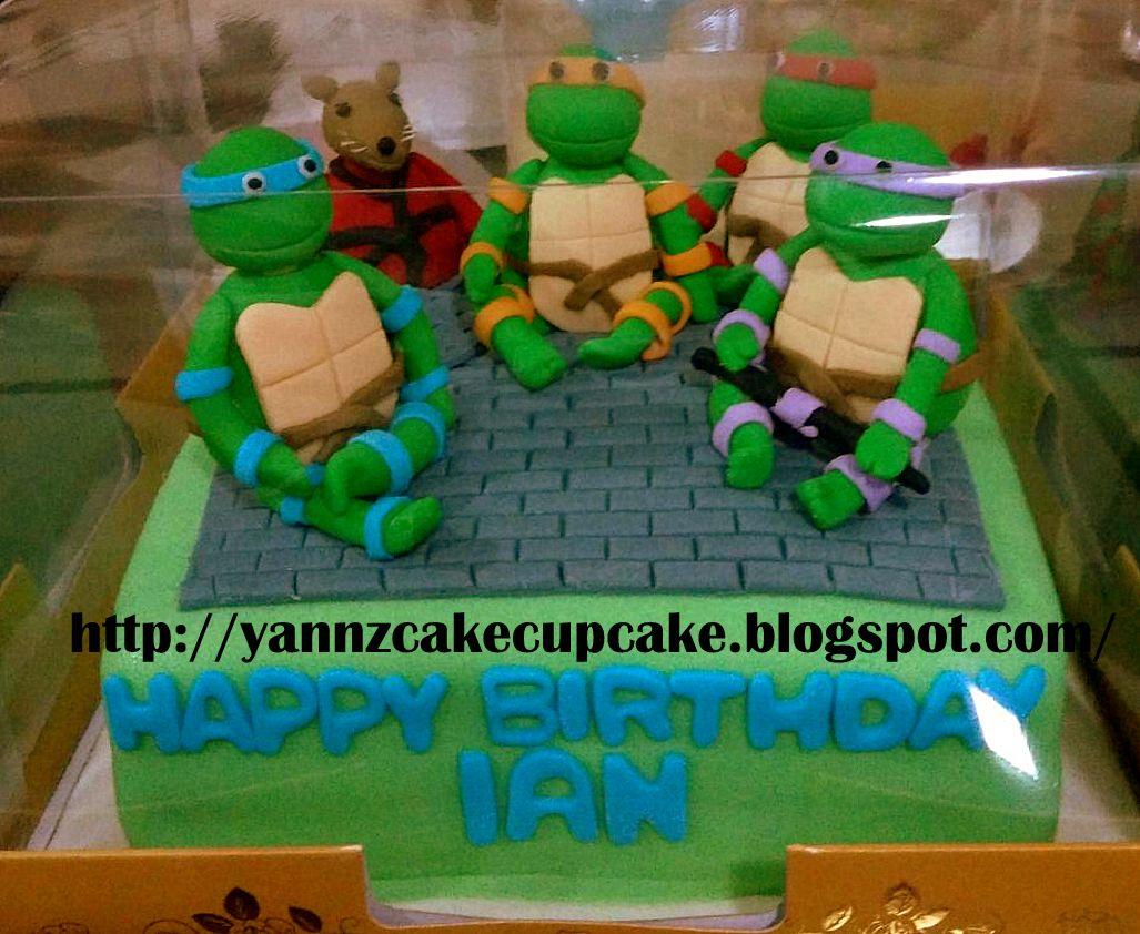 Cake Cupcake By Yannz TMNT Ninja Turtles Cake