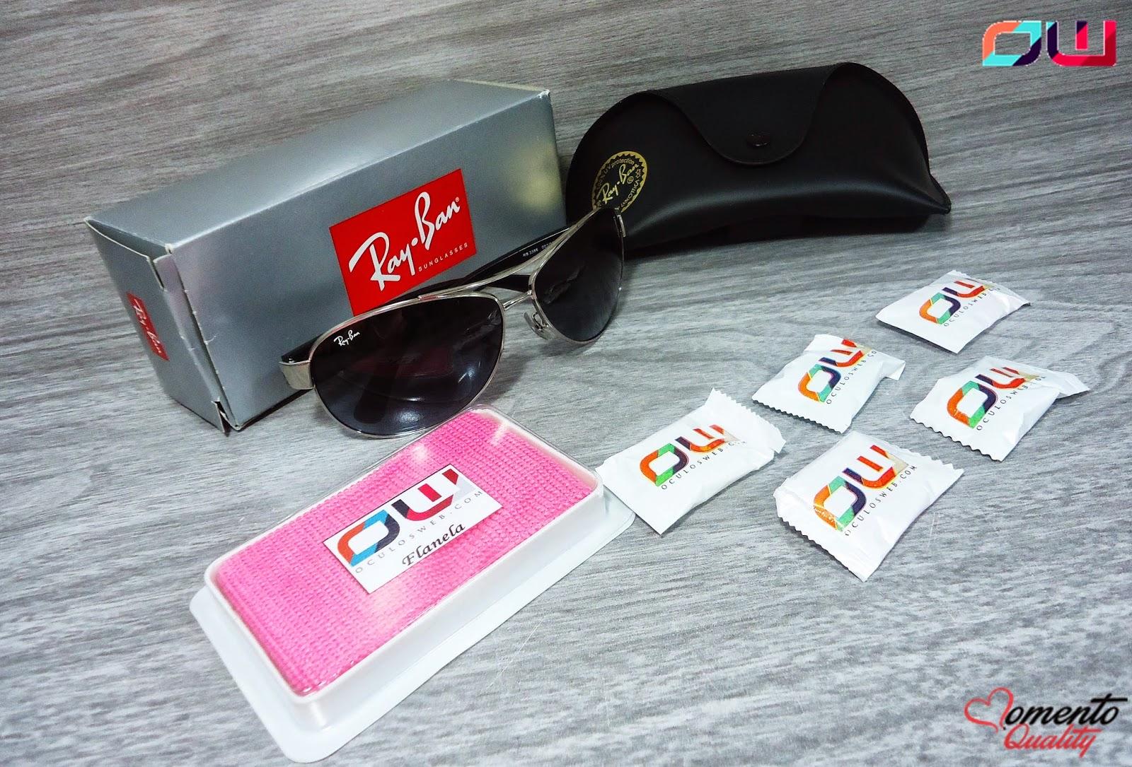 Óculos Rayban 3386 OculosWeb