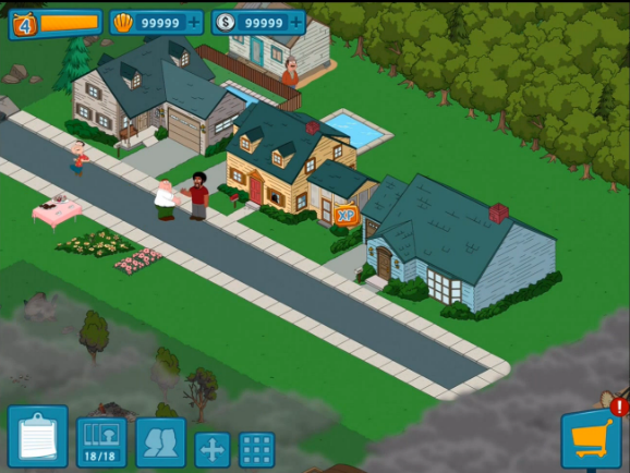 Family Guy The Quest For Stuff Hile Mod Apk