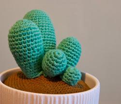 DIY hæklet kaktus