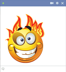 Emoticon Fireball