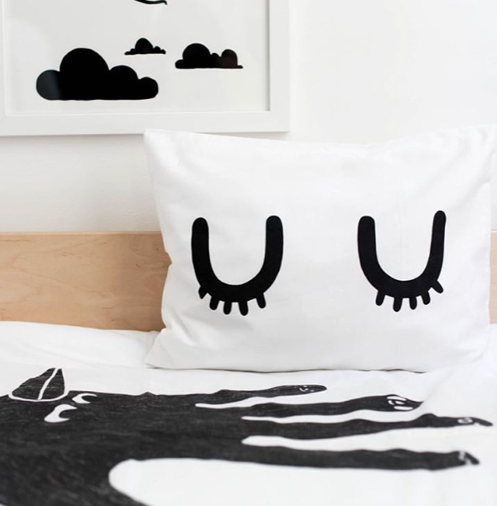 black&white pillow from natti-natti