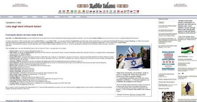 buongiornolink - Sul web 'black list' di ebrei. La procura indaga sull'elenco di Radio Islam