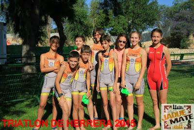 Triatlon de Menores Villa de Herrera