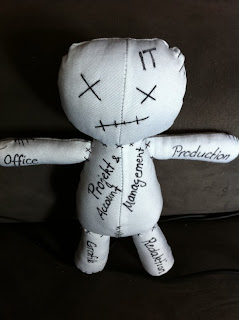 Voodoo Puppe nähen